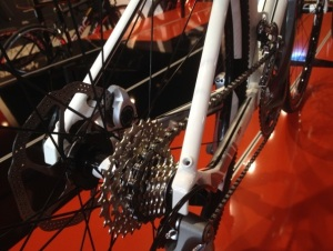 2013 BMC Gran Fondo Rear Disc Detail